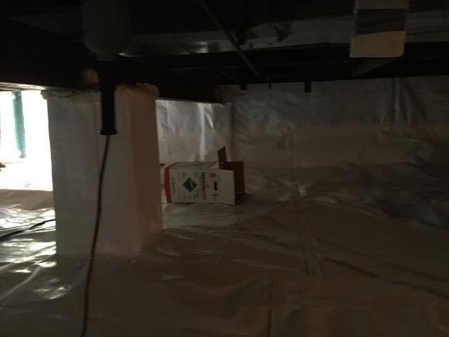 Damp Mancelona, MI Crawl Space is Encapsulated