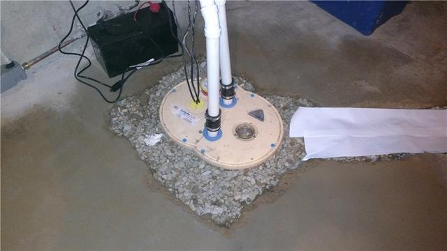 Ada, MI Basement with New Sump Pump