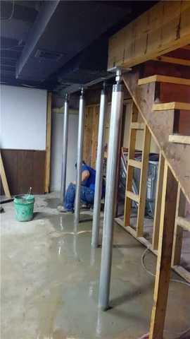 Sagging Floors in Okemos, MI Home