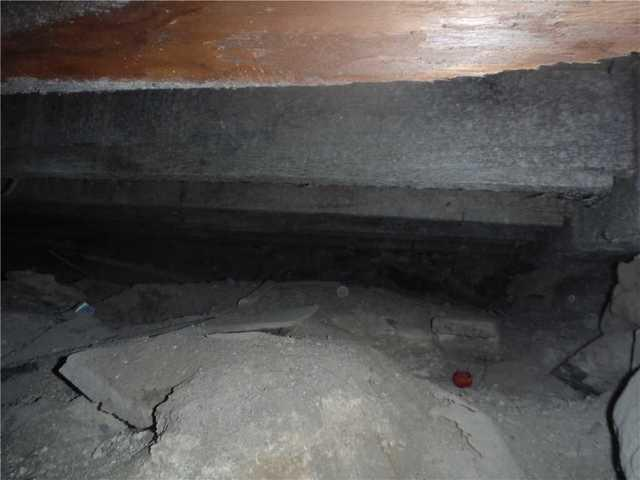 Leland, MI Crawl Space with Sagging Floor