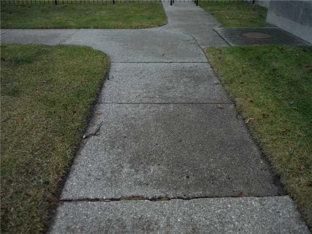 Muskegon, MI Walkway is No Longer Tripping Hazard