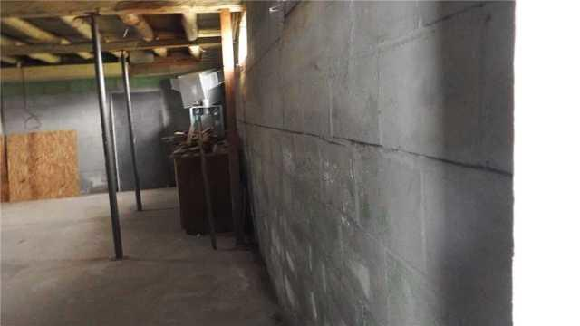Basement Wall Reinforced in Lake Ann, MI