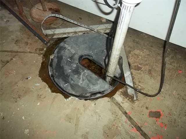 Traverse City, MI Basement Replaces Inadequate Sump Pump