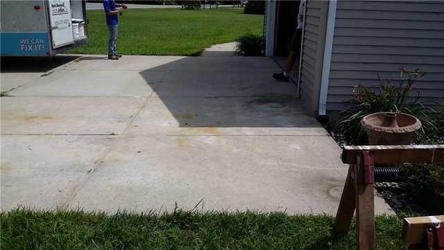 Sinking Driveway Fixed in La Porte, Indiana