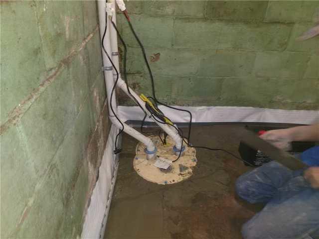 TripleSafe Pump Keeping Basement Dry in Lansing, MI