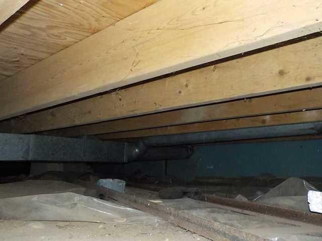 Encapsulating a Musty Crawl Space in Higgins Lake, MI
