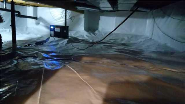 The CleanSpace System Combats Growing Moisture Concerns in a Granger, IN Crawlspace