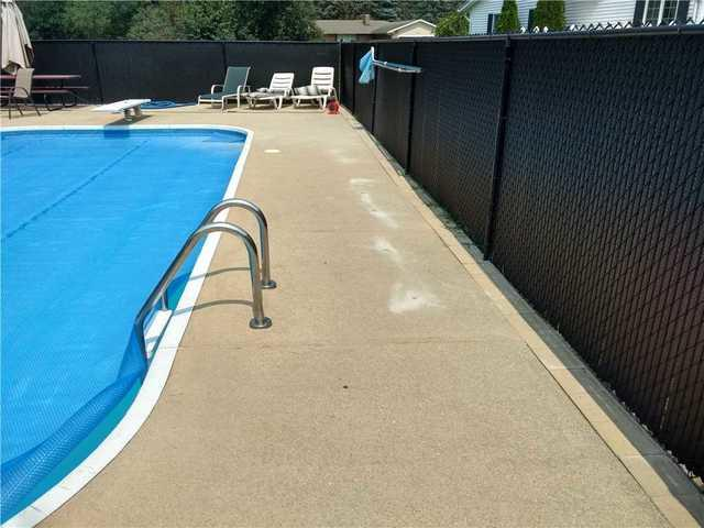 Concrete Around Swimming Pool Gets Lifted