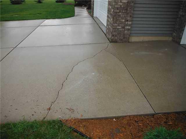 Sinking Cement in Charlotte, MI Home
