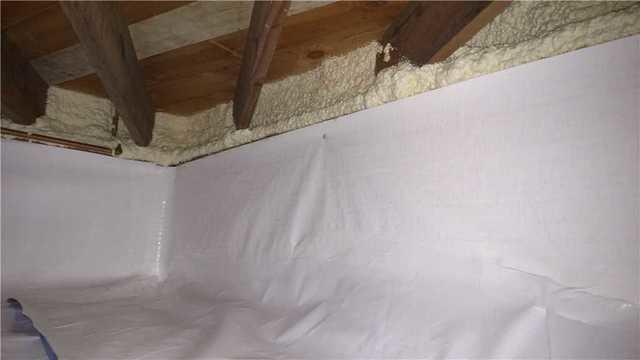 Sealed Traverse City Crawl Space