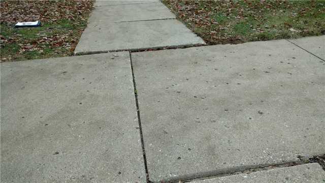 PolyLevel Repairs the Sidewalk at a Kalamazoo, MI Apartment Complex