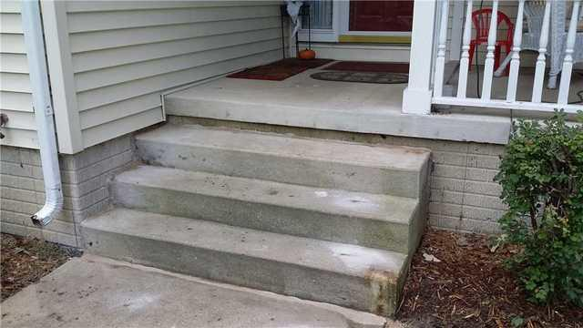 Poly Level Helps a Jackson, MI couple Level Their Porch Steps - After Photo