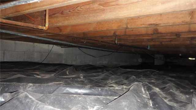 Thanks to the CleanSpace System a Wet Atlanta, MI Crawlspace is Transformed