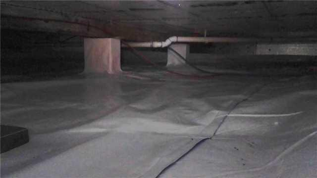 Maple City Homeowners Get A Protected Crawlspace