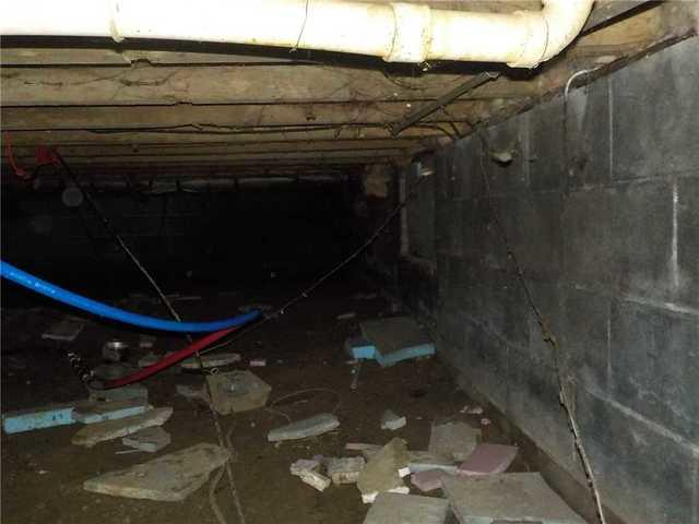 Clean Space Eliminates the Swamp in an Alpena, MI Crawl Space