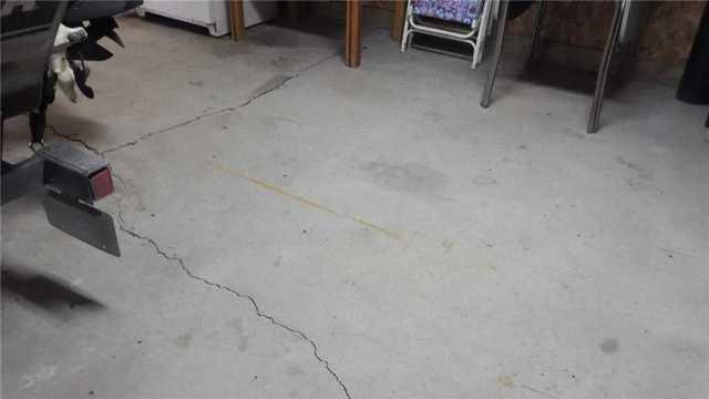 Poly Level Saves a Man-Cave Floor in Hillman, MI
