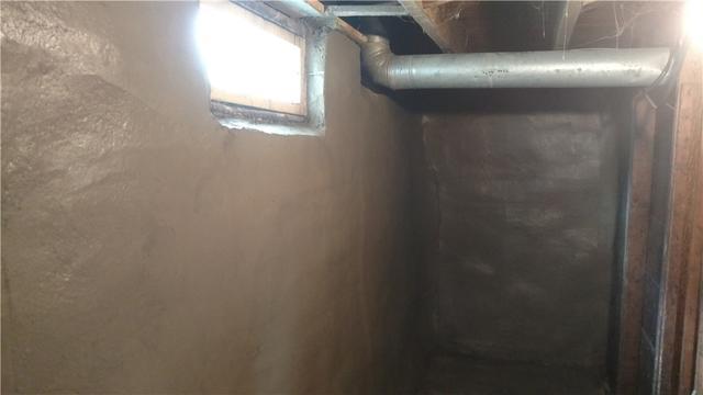 Shotcrete Saves a Crumbling Basement Wall in Elkhart, IN