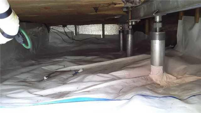 Healthy Crawl Space in Manistee, MI