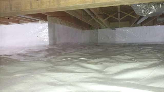 Wet Crawlspace in Pentwater, MI