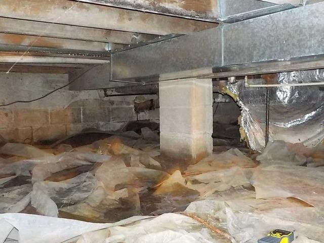 Crawl Space Transformation in South Haven, Michigan