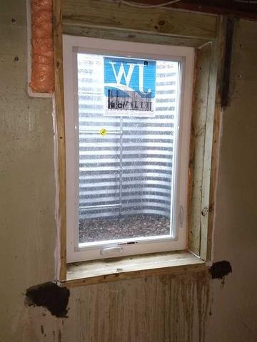 Egress Window Install for South Bend Home