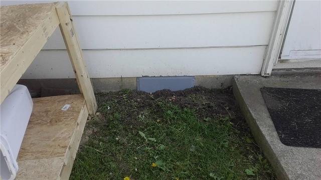 Vent Covers Help Turn a Crawl Space into a CleanSpace in Cement City, MI