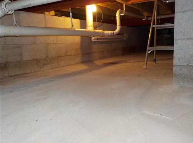 Maintaining a Dry Crawl Space