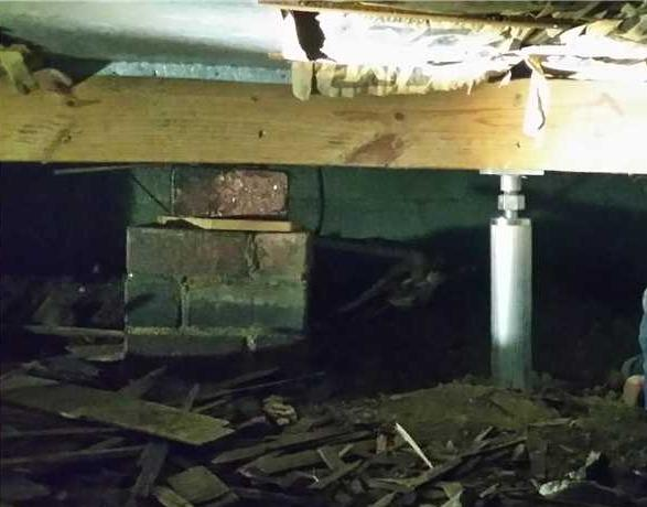 Installing SmartJacks in a Crawl Space in Kalamazoo MI