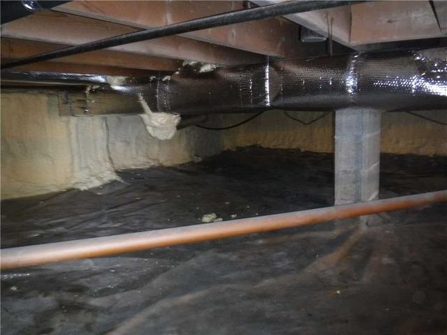 Waterproofing a Crawl Space in Eaton Rapids MI