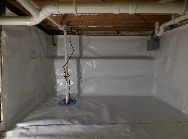 Waterproofing a Crawl Space in Ada MI