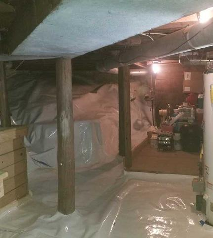 Encapsulating Crawl Spaces in Lakeview, MI