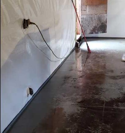 Installing CleanSpace in Basements in Muskegon, MI