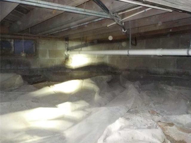 Encapsulating a Crawl Space in St. Joseph, MI
