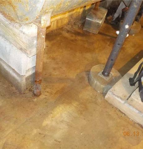 Waterproofing a Clarksville Basement