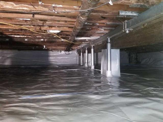 Using CleanSpace to Encapsulate Crawl Spaces in Dowling, MI