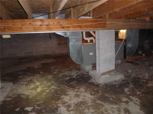 Sealing Off Crawl Spaces with CleanSpace in Fruitport, MI