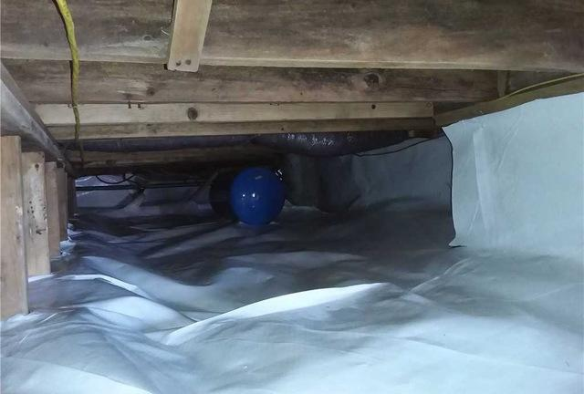 Using CleanSpace to Encapsulate Crawl Spaces Gobles, MI