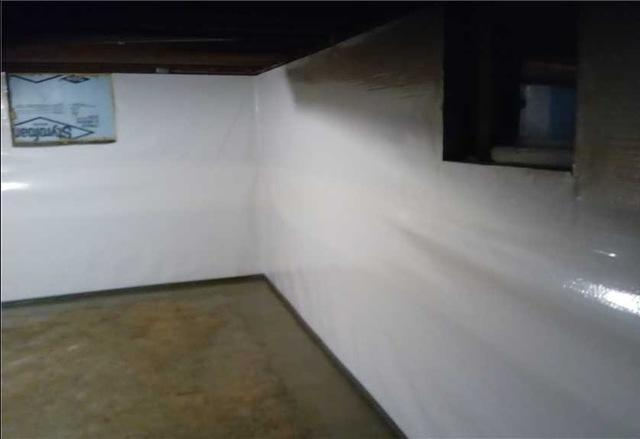 Installing CleanSpace Basement Finishing Wall System in Reading, MI