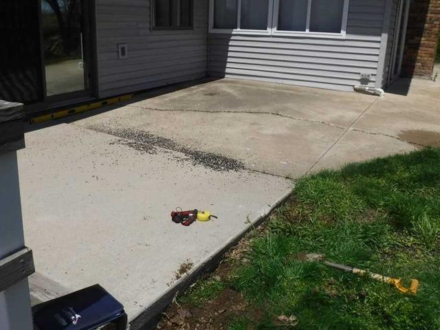 Fixing Settling Porch in Zeeland MI