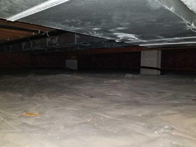 Encapsulating Crawl Spaces with CleanSpace in Shoreham, MI