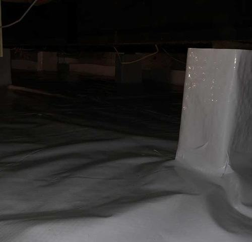 Encapsulating Crawl Spaces with CleanSpace in Springfield, MI