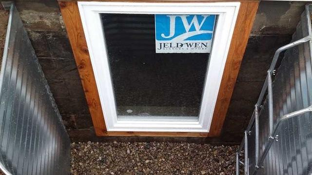 Using Egress Windows and Wells in Basements in Battle Creek, MI