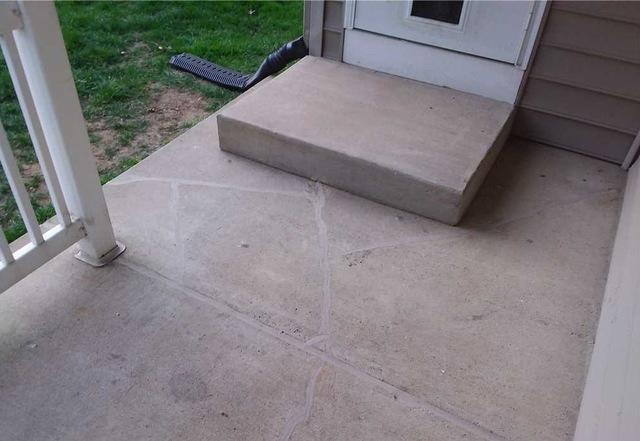 Fixing Concrete Slabs with PolyLevel in Portage, MI