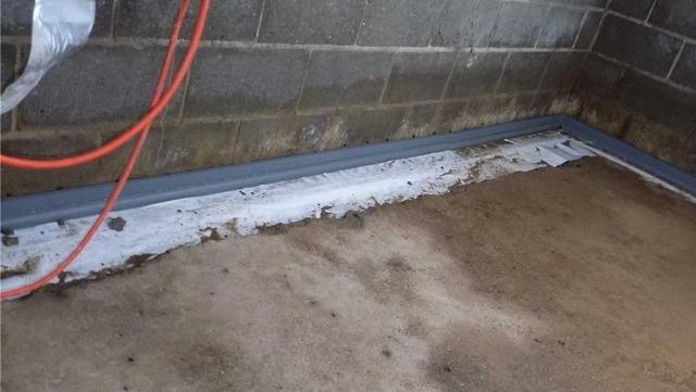 Waterproofing a Williamston MI Basement