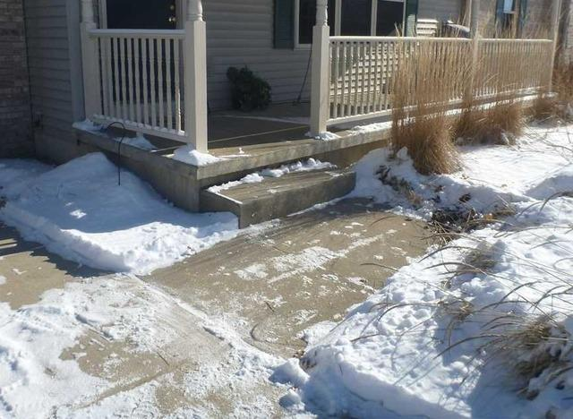 Saving a Sinking Walkway in Charlotte MI