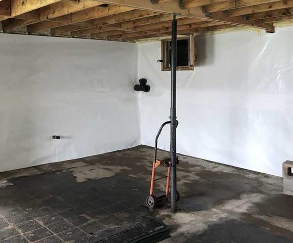 Using the CleanSpace Basement Finishing Wall System in Vandalia, MI