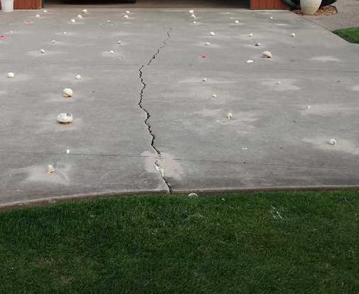 Using PolyLevel to Fix Concrete in Watervilet, MI