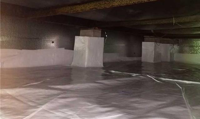 Encapsulating Crawl Spaces in CleanSpace in Battle Creek, MI