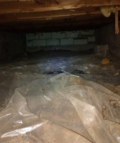 Using CleanSpace in Crawl Spaces in Mishawaka, IN
