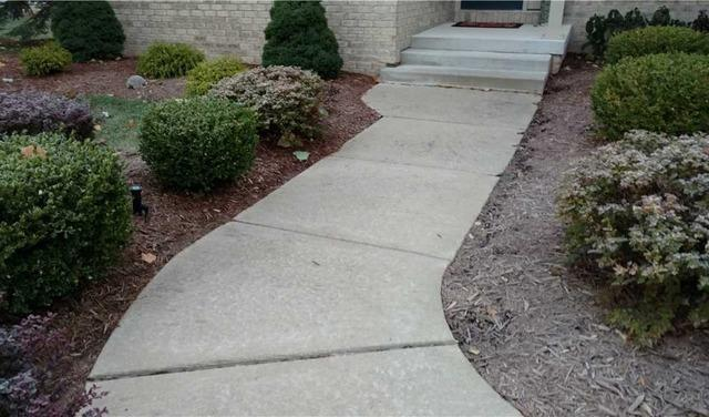 Using PolyLevel to Fix a Sunken Sidewalk Slab